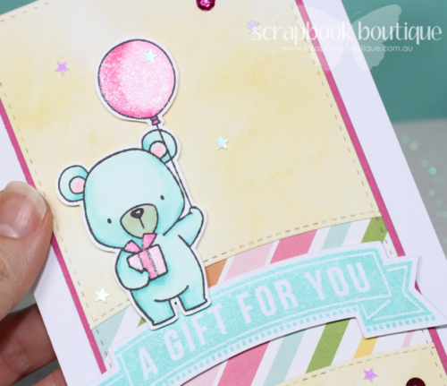 #mft, Birthday Card, Baby Card, #cardvideo, MFT Beary Special Birthday.