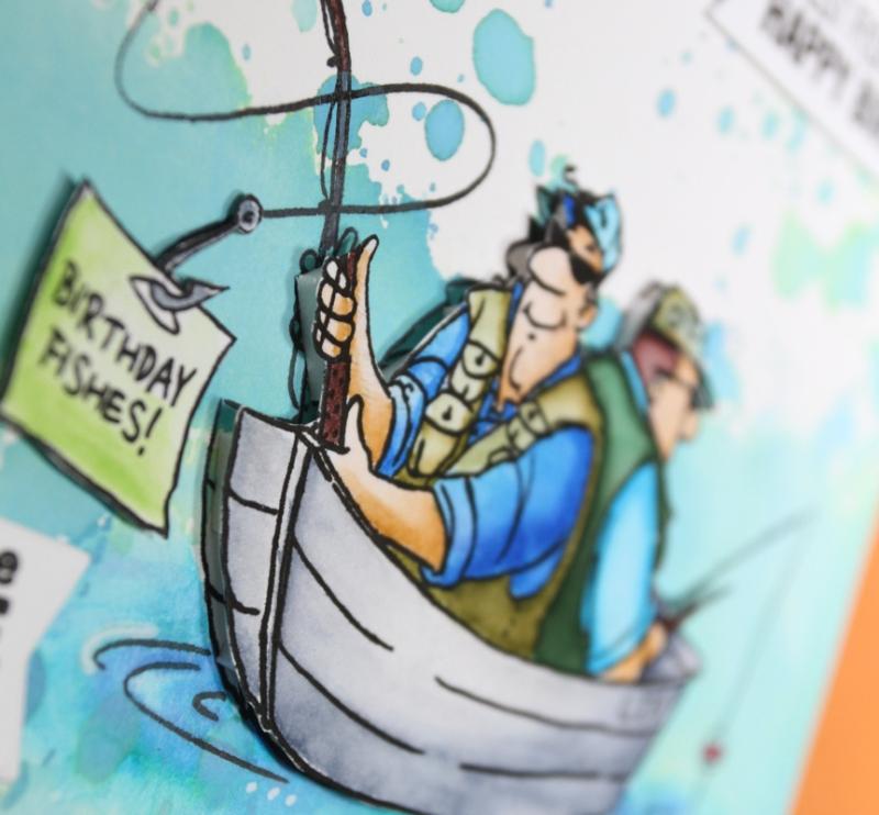 Fishing Card CU