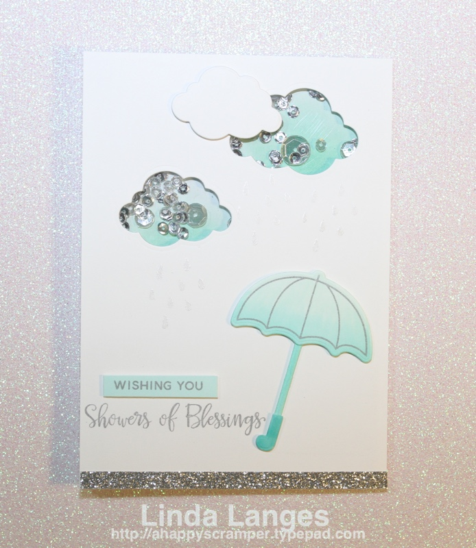 PPP Shaker Clouds Card
