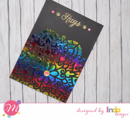 Foiling, Linda Langes, Mudra Craft Stamps