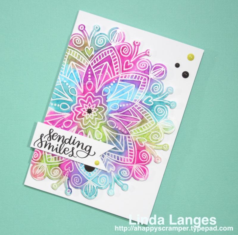 SSS Star Flower Card