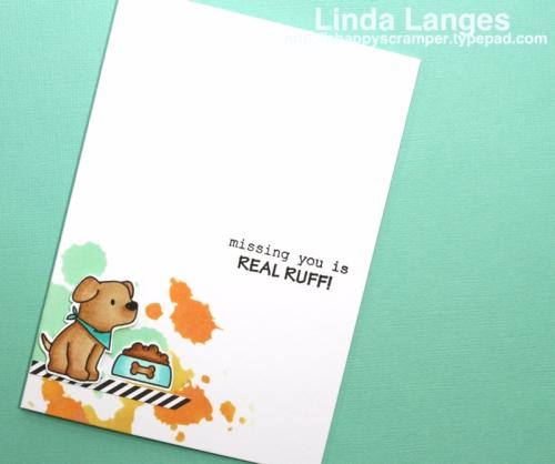 Linda Langes, Mama Elephant, Playful Pups, Distress Oxides
