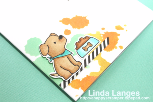 Linda Langes, Mama Elephant, Playful Pups, Distress Oxides
