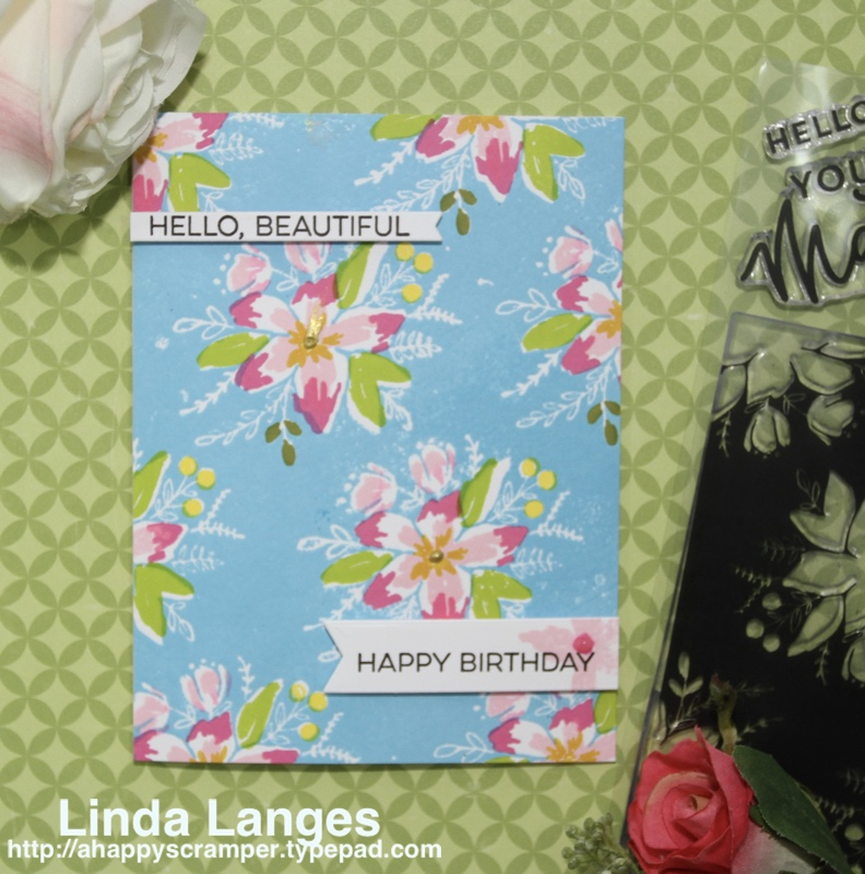 Blooms Fill In BDay Card