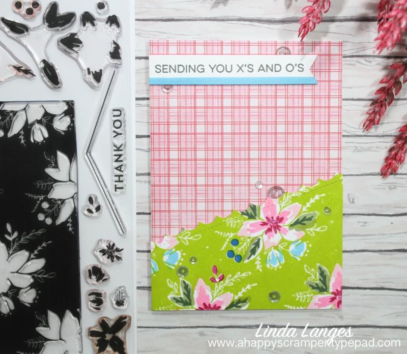 1 layered card sending you