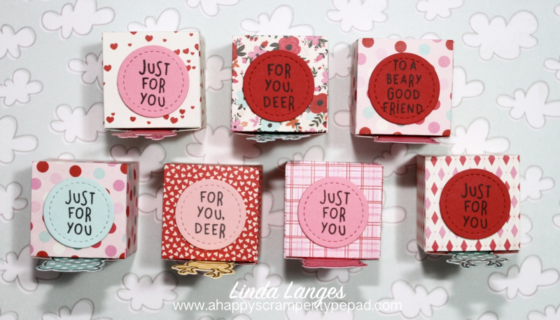 Valentines Treat Boxes from top