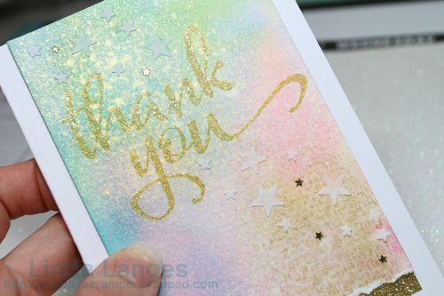 Thank You WC Card CU shine