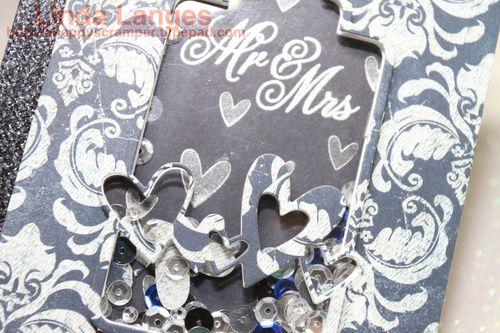 Mr and Mrs Wedding CardCU