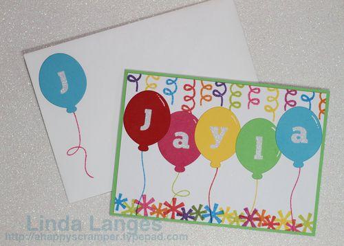 Jayla's Card & Envie
