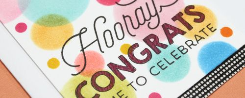 Hooray Congrats Card narrow