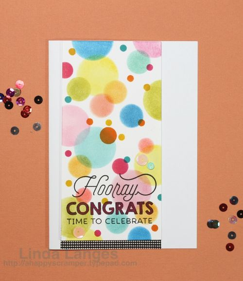 Hooray Congrats Card