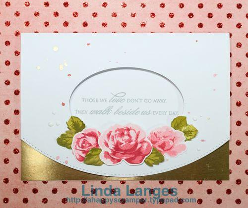 Roses Sympathy Card