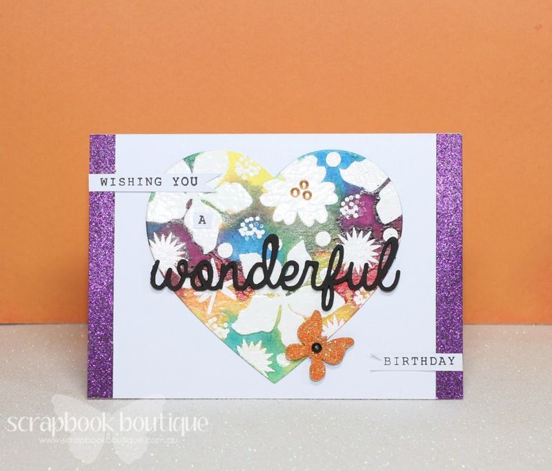 Project 1 Wonderful Card