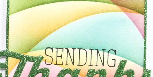 GUEST TUTOR card Sending Thanks narrow