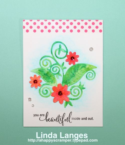 Watercolouring Die Cuts