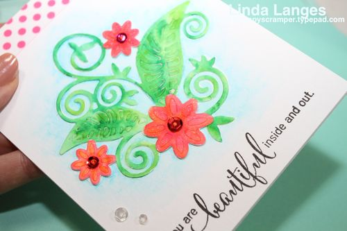 Watercolouring Die Cuts CU