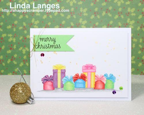 Bright presents card