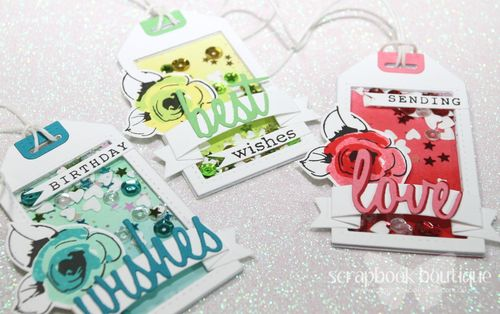 March 22 Tags x 3 flat CU