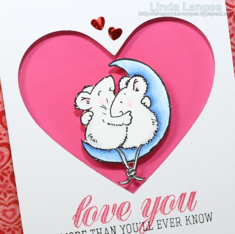Mice Love You Card CU