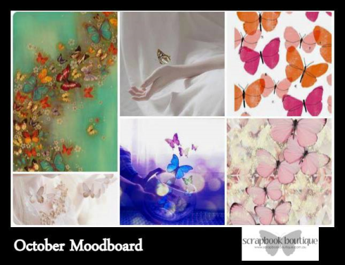 Scrapbook Boutique October Mood Board