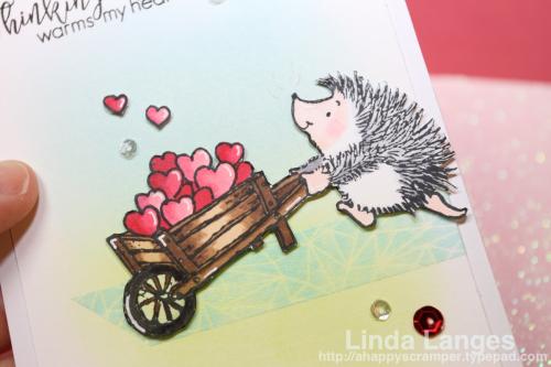 Thinking of You Hedgehog CU
