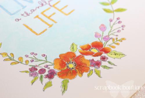 Prima Watercolor Confections, Prima Watercoloring Book, Linda Langes, Happy Scramper