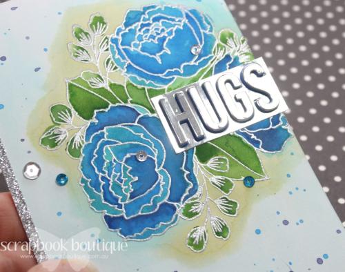 April 22 Card hugs CU