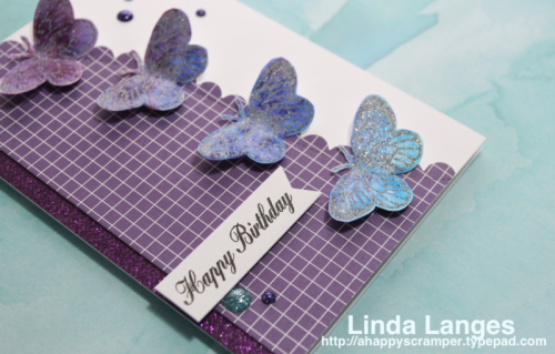 Linda Langes, Happy Little Stampers, Brushos, Brusho Water Color Powders