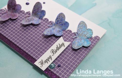 Linda Langes, Happy Little Stampers, Brushos, Brusho Water Color Powders