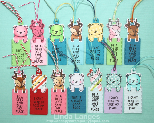 Lawn Fawn Bookmarks