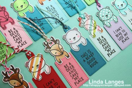 Lawn Fawn Bookmarks CU 1