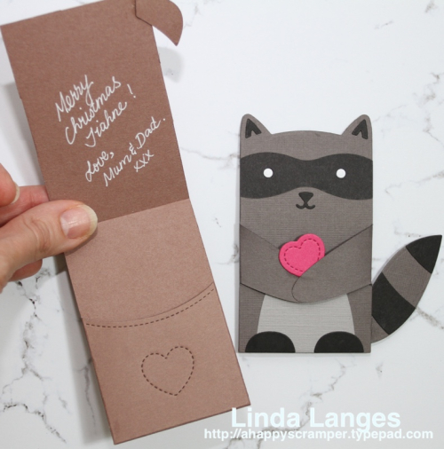 Critter Hugger Gift Card Holders Inside