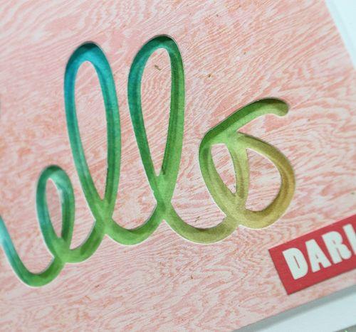 Hello Darling Card CU
