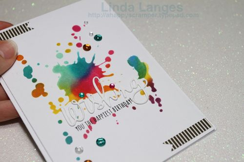 Wishing Blended Ink Card CU