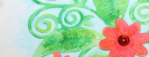Watercolouring Die Cuts narrow
