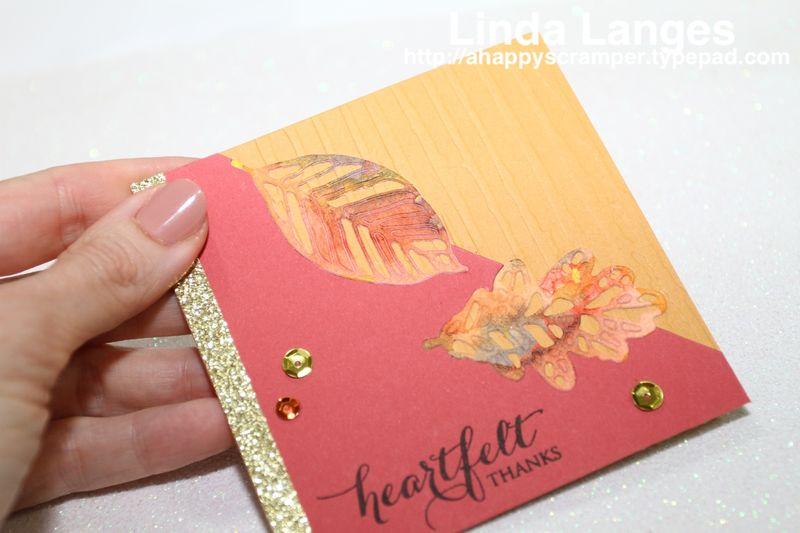 Autumn Notecard x1 CU