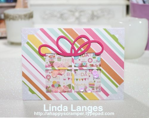 Present Shaker Card