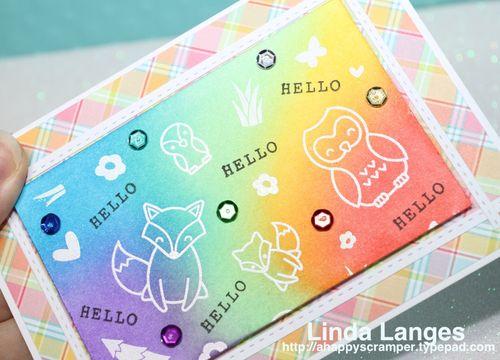 Hello Card CU