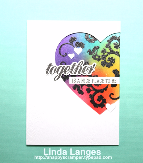 TDistress Inks, ink blending, Linda Langes, Happy Scramper, Altenew, Mama Elephant