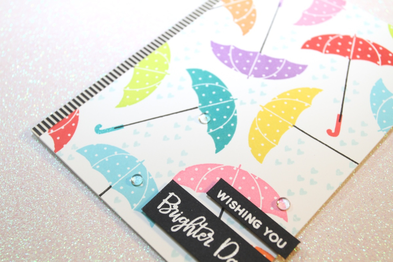 PPP Feature Coloured Umbrellas Card CU