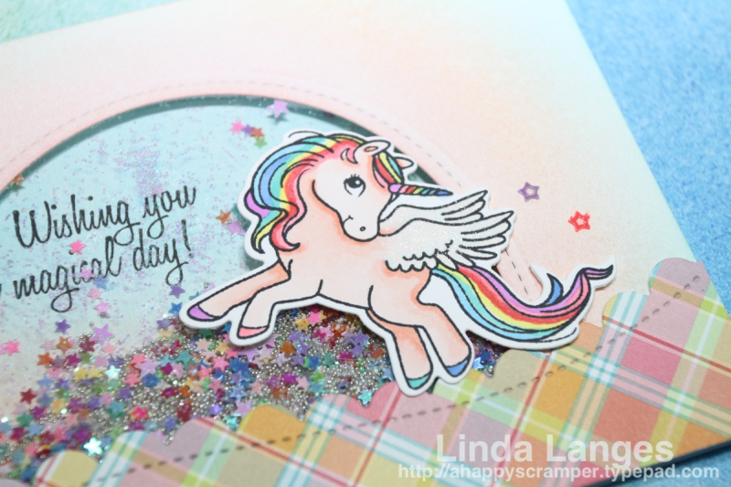 Magical Ponies Shaker Card WMarked CU
