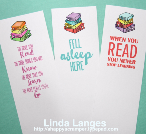 Mudra Bookmarks Stamp Set, Linda Langes
