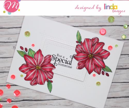 Linda Langes, Mudra, Mudra Craft Stamps, Copic colouring