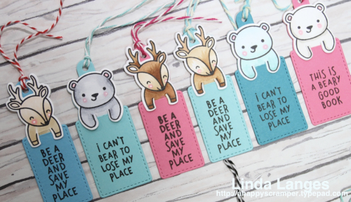 Bookmarks Copic coloured