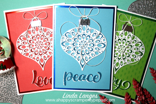 Trio of Ornament Cards