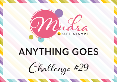 Mudra stamps Challenge 29 - craft challenge - Anything goes-01