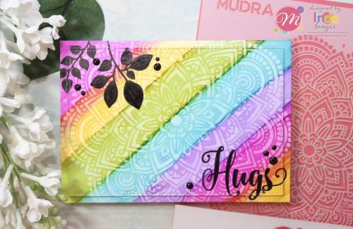 Hugs Rainbow Card main