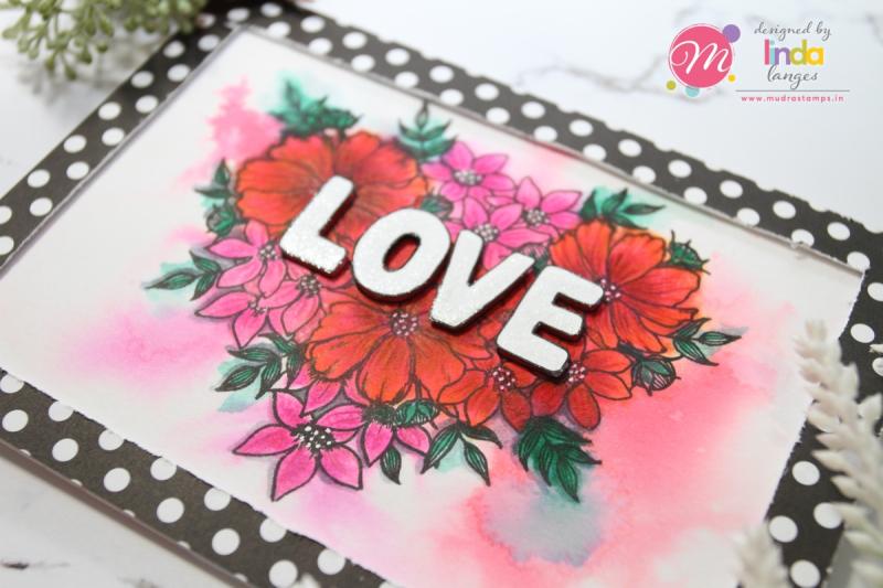 Love Floral dimension