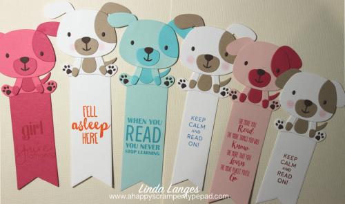 Puppy Love Bookmarks