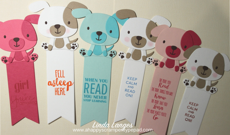 Puppy Love Bookmarks